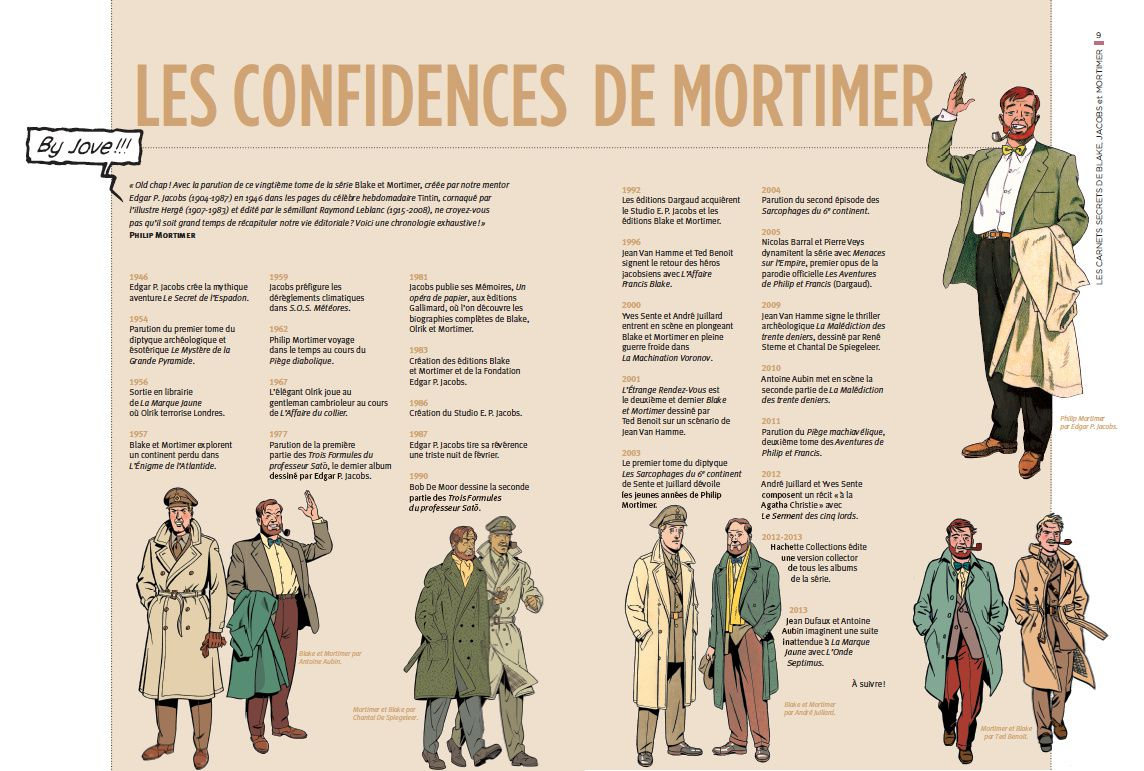 Blake et Mortimer, la collection Hachette : La Malédiction des Trente Deniers T1