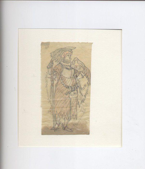 Vente aux enchères de dessins originaux de E.P.Jacobs sur Catawiki