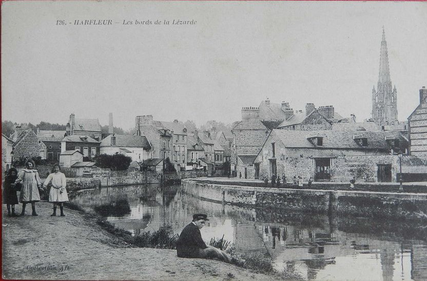 Harfleur: les bords de la Lezarde