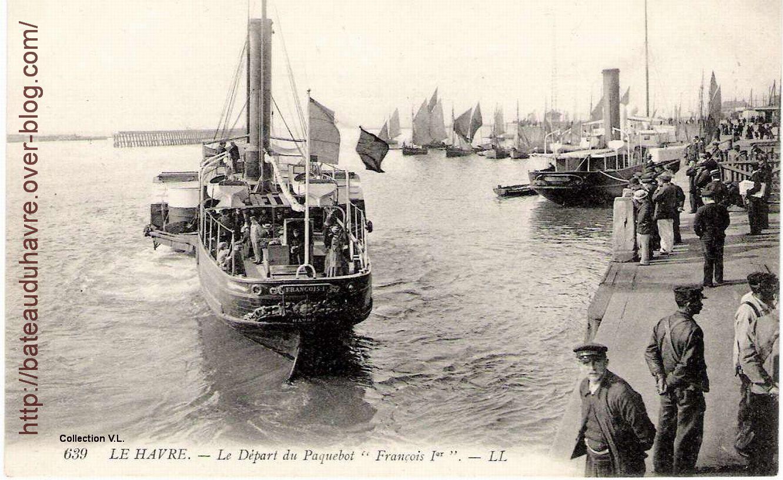 Le François 1er lancé en 1866 Carte postale
