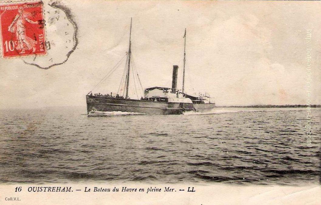 l'Hirondelle en pleine mer