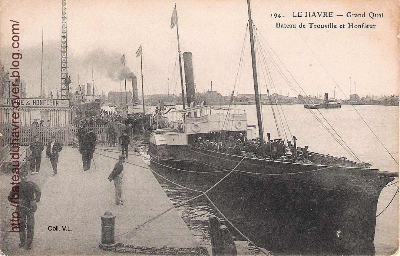 A quai au Havre