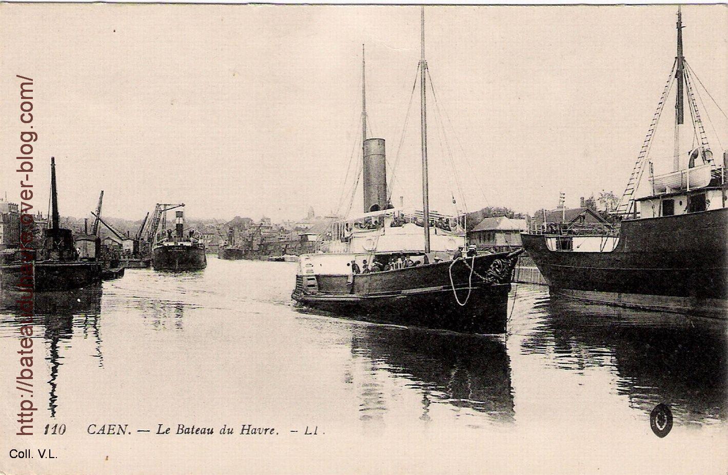 Le bateau du havre dans le bassin St Pierre