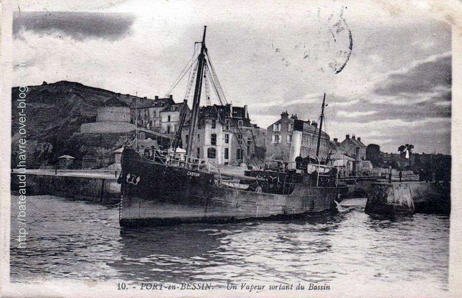 Le Castor à Port en Bessin