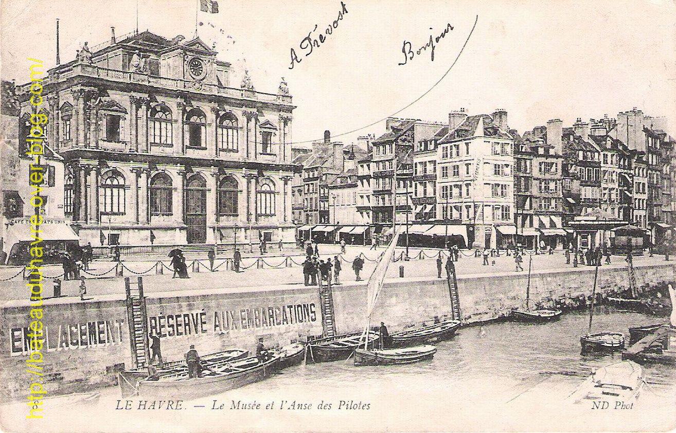 Le Grand Quai du Havre Coté Ville