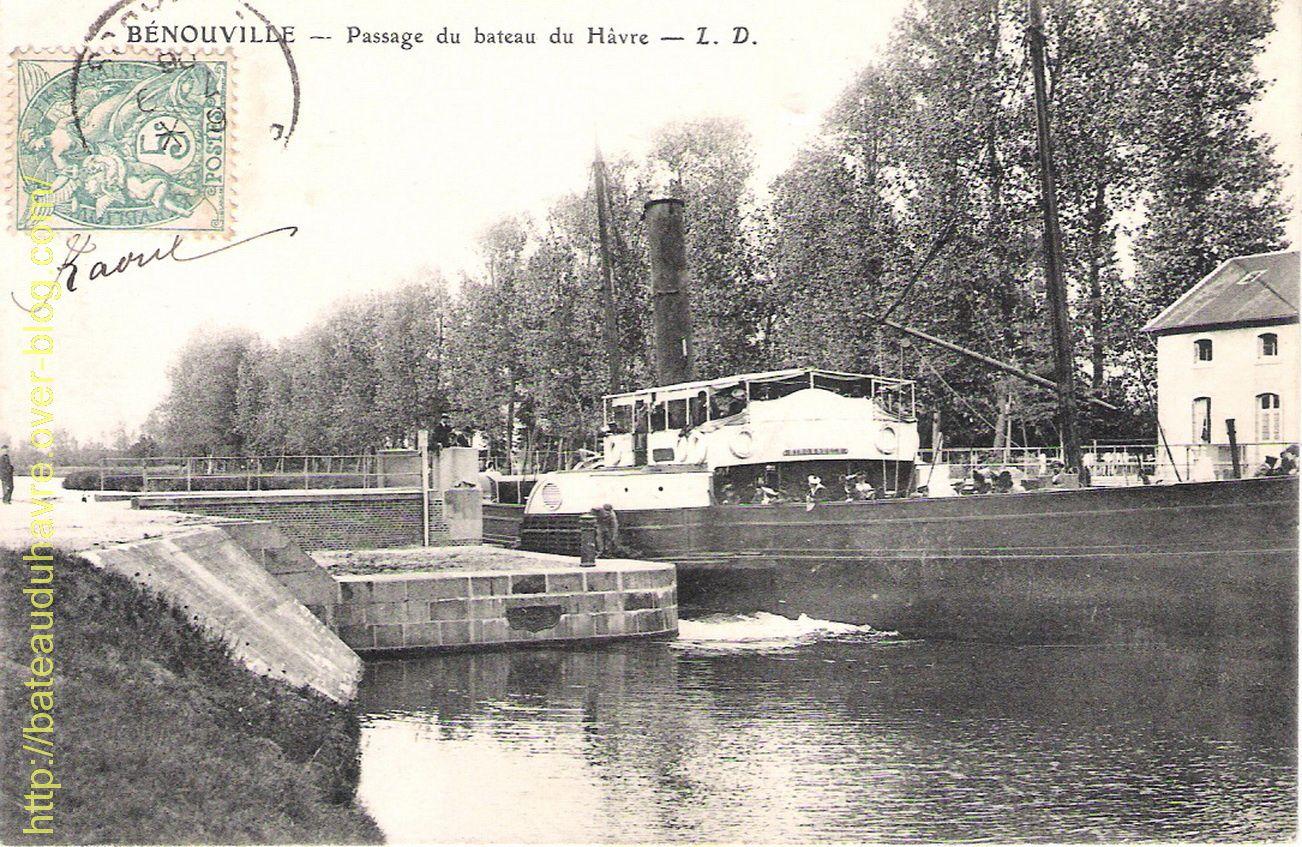 Canal de Caen: PONT DE BENOUVILLE