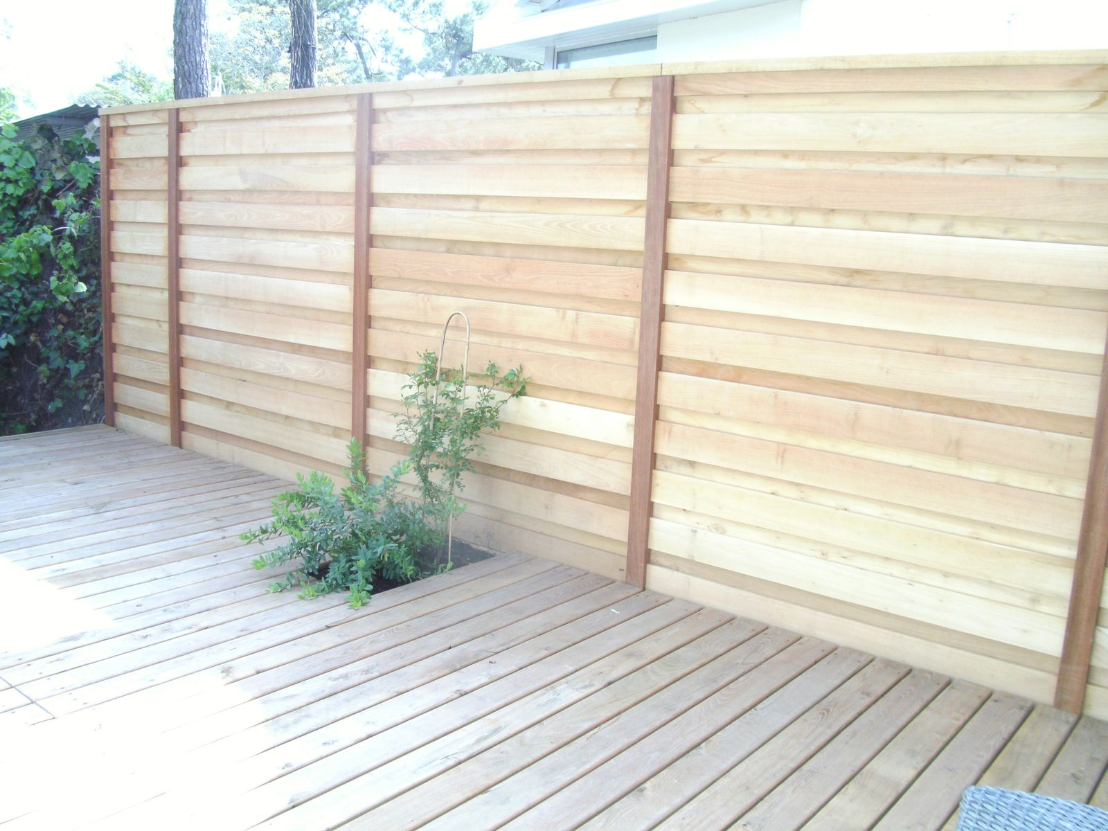 Bardage isolation par l 39 ext rieur terrasse cl ture bois for Isolation terrasse exterieure
