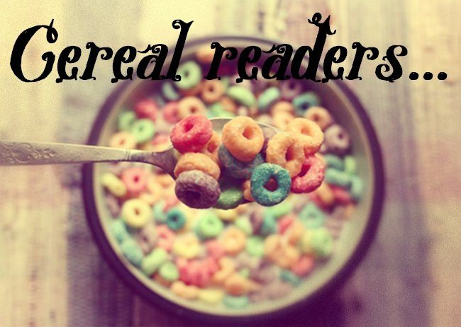 Cereal readers #4