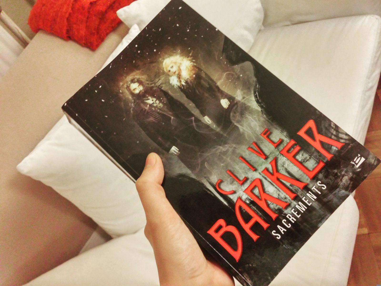 [Chronique] Sacrements, de Clive Barker