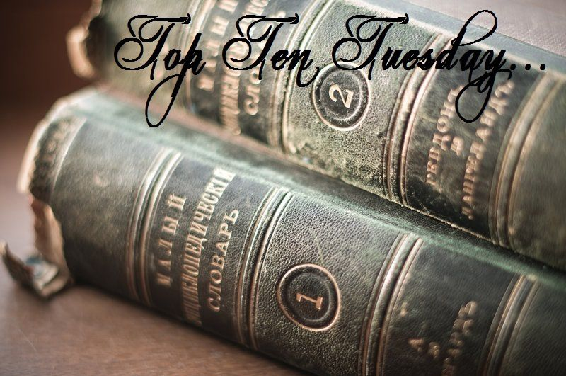 Top Ten Tuesday #34