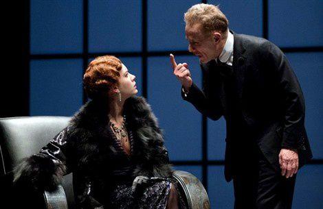 Gabriele e Lucia Lavia in scena al Teatro Argentina