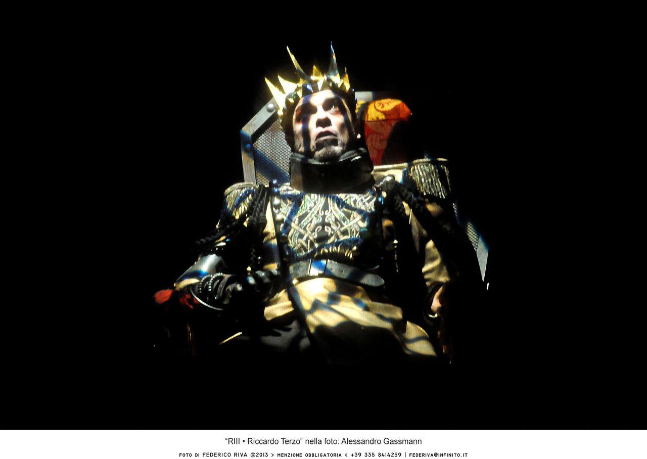 Le pieghe oscure dell'animo: Gassman interpreta e dirige Riccardo III