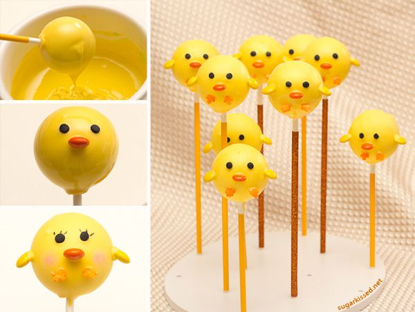 http://sugarkissed.net/spring-cake-pops/#chickpops