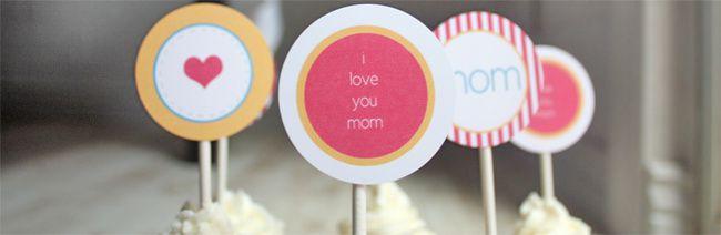 Sweet Table : Fêtes de mères