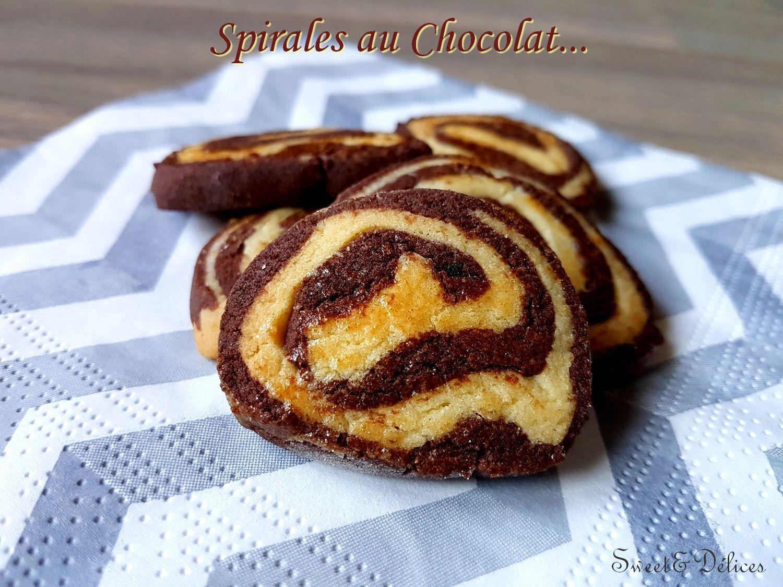 Recette Bredeles Spirales chocolat au thermomix