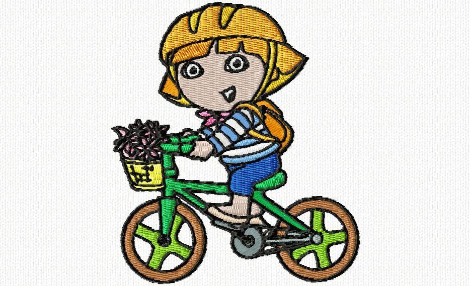 dora et son vélo