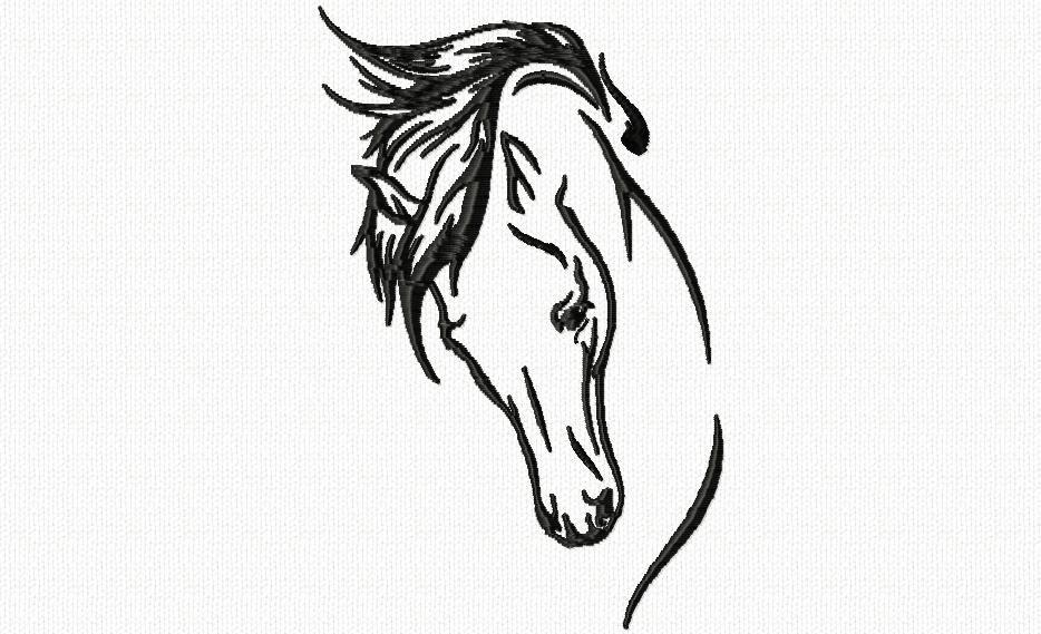 T te de cheval 2 chez - Tete de cheval a imprimer ...