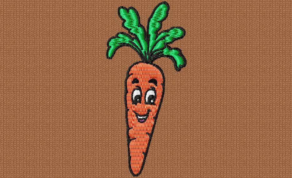 une carotte sympa