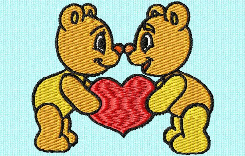 les petits oursons st Valentin