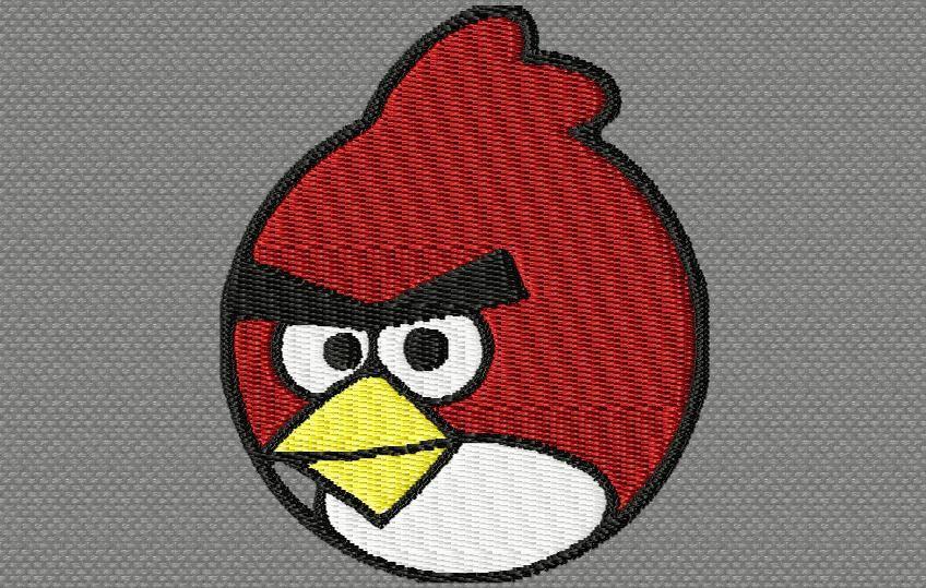 oiseau rouge