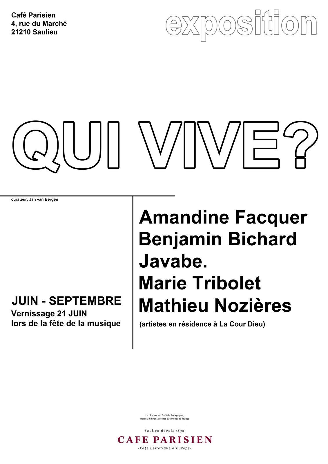 Qui vive? une exposition du 21 juin au 30 septembre 2014