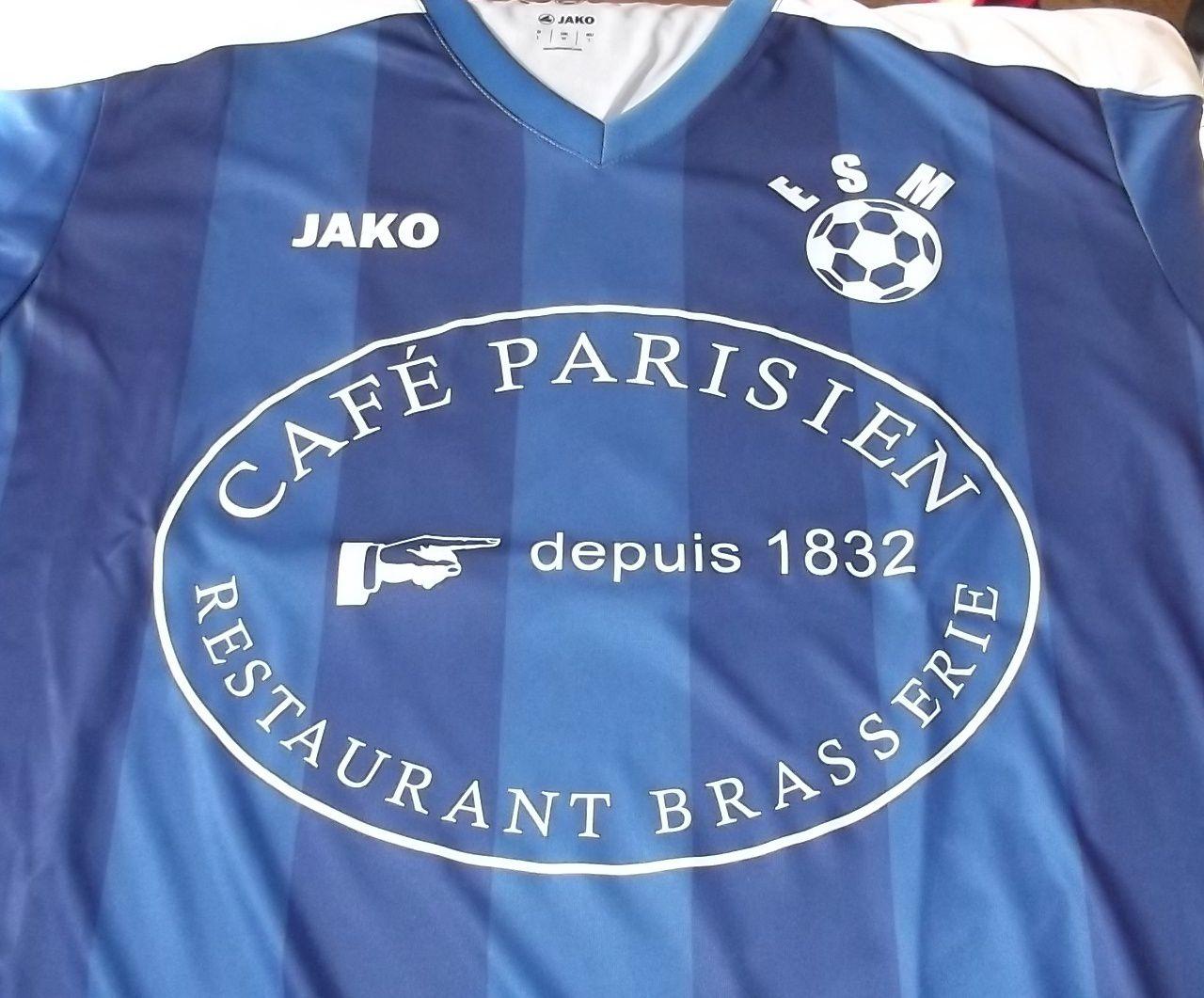 Les nouveaux maillots de l'équipe première de l'Entente Morvandelle