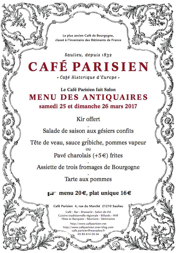 25, 26 mars, le Parisien fait Salon, le 8 avril, il reçoit...