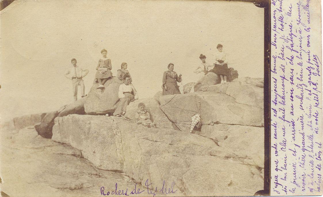 Dans les rochers de Trestel