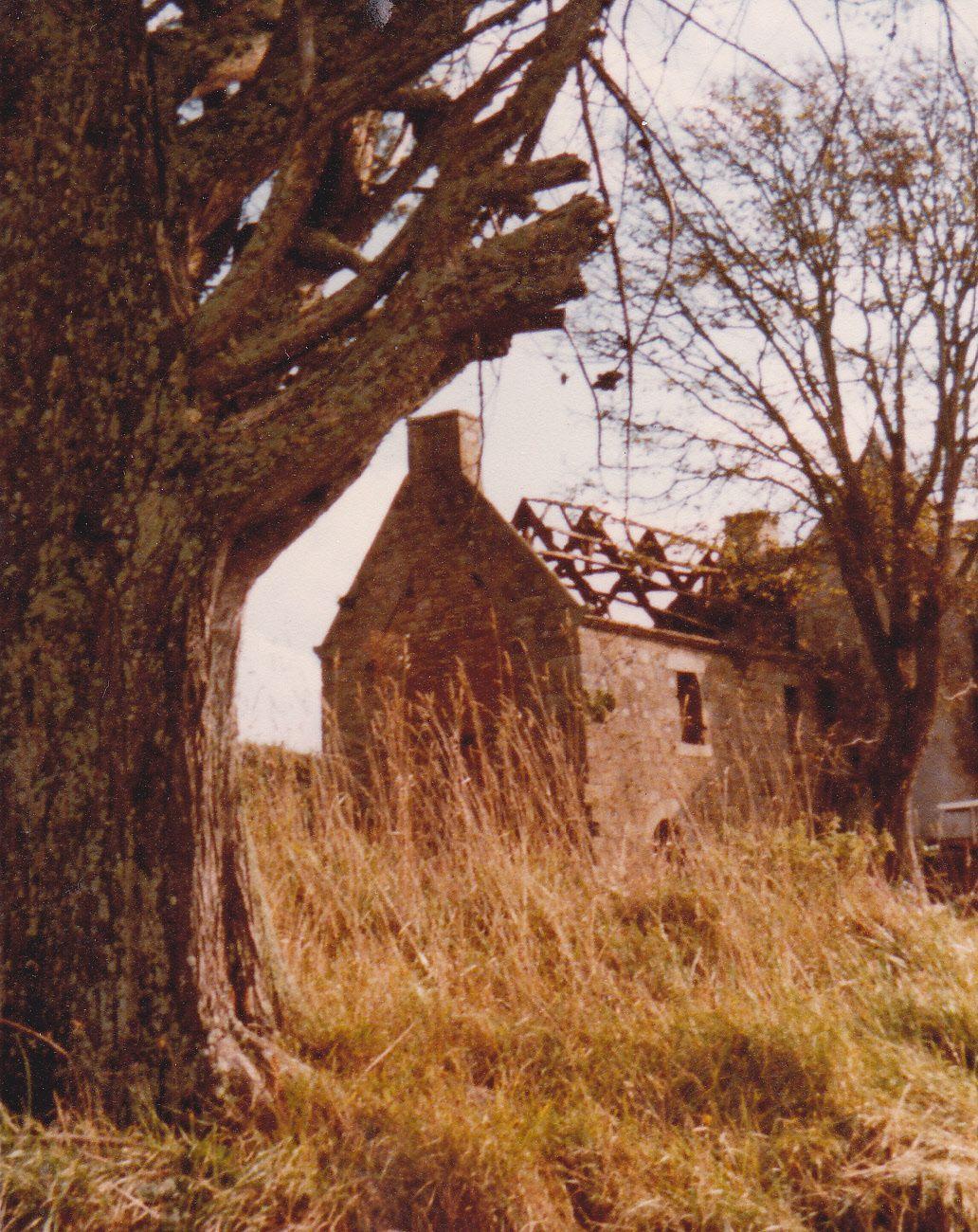 Le manoir de Balloré à la fin des années 70