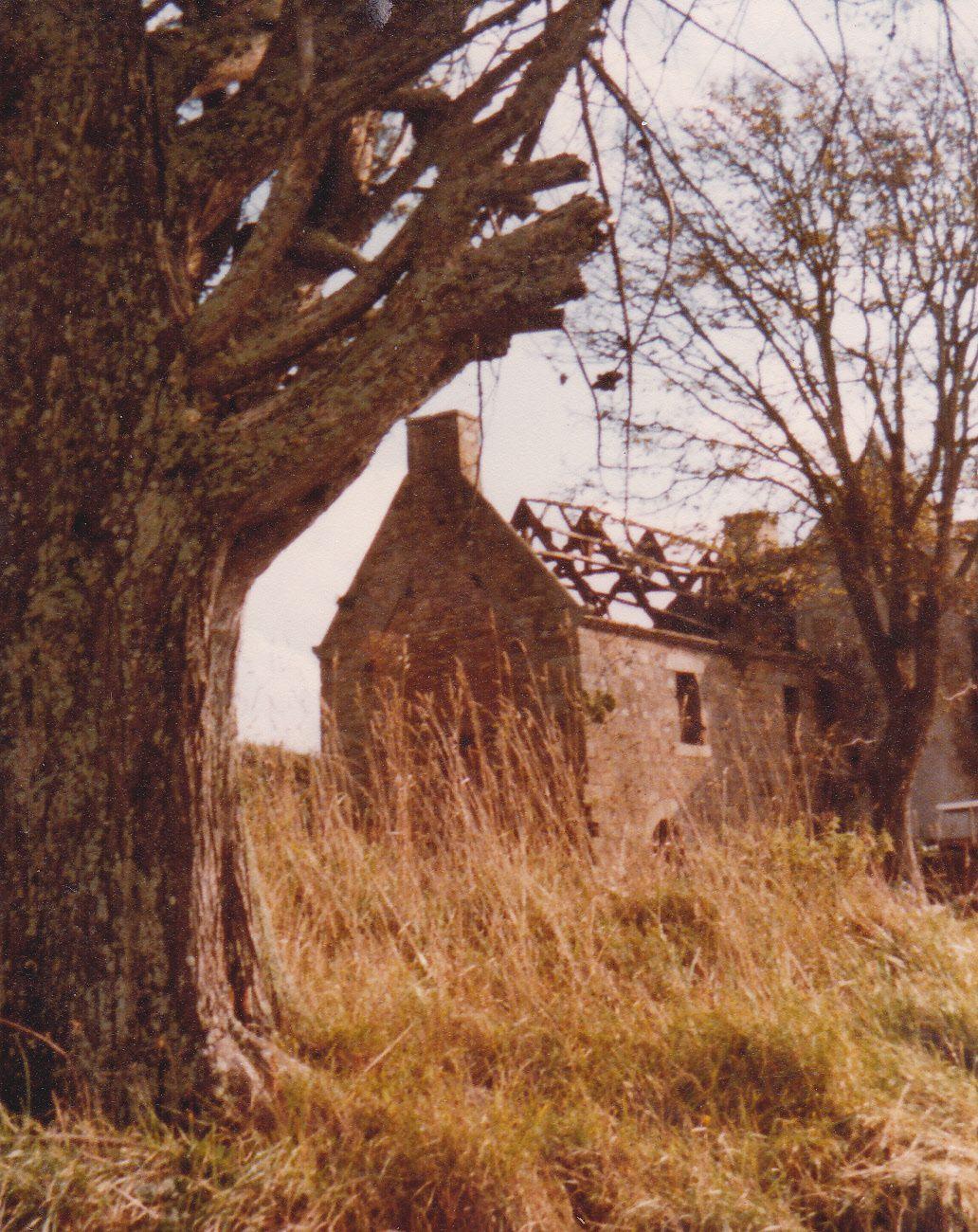 Balloré avant la restauration au début des années 1980