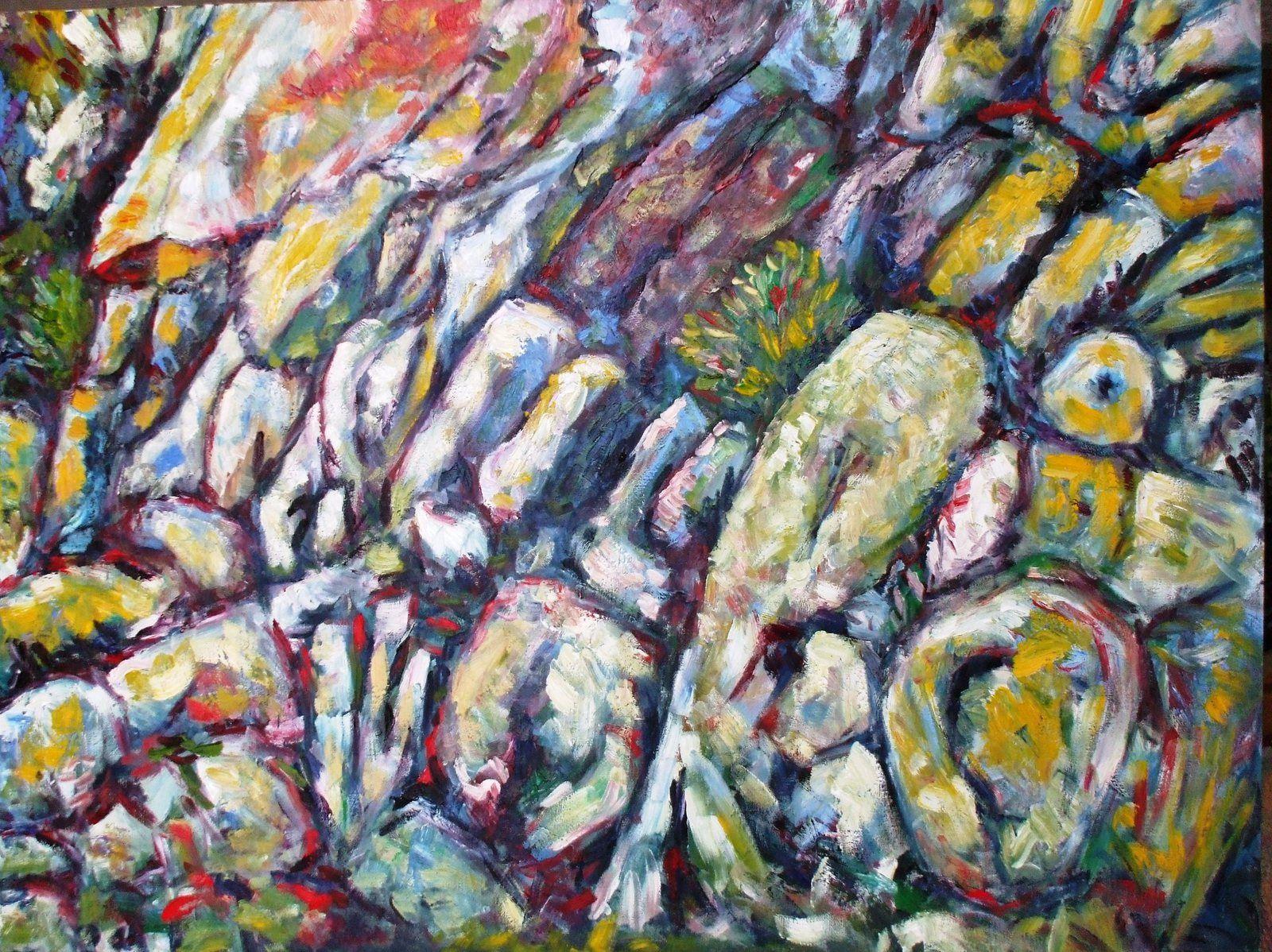 """Peintures geologiques : """"geology paintings"""""""