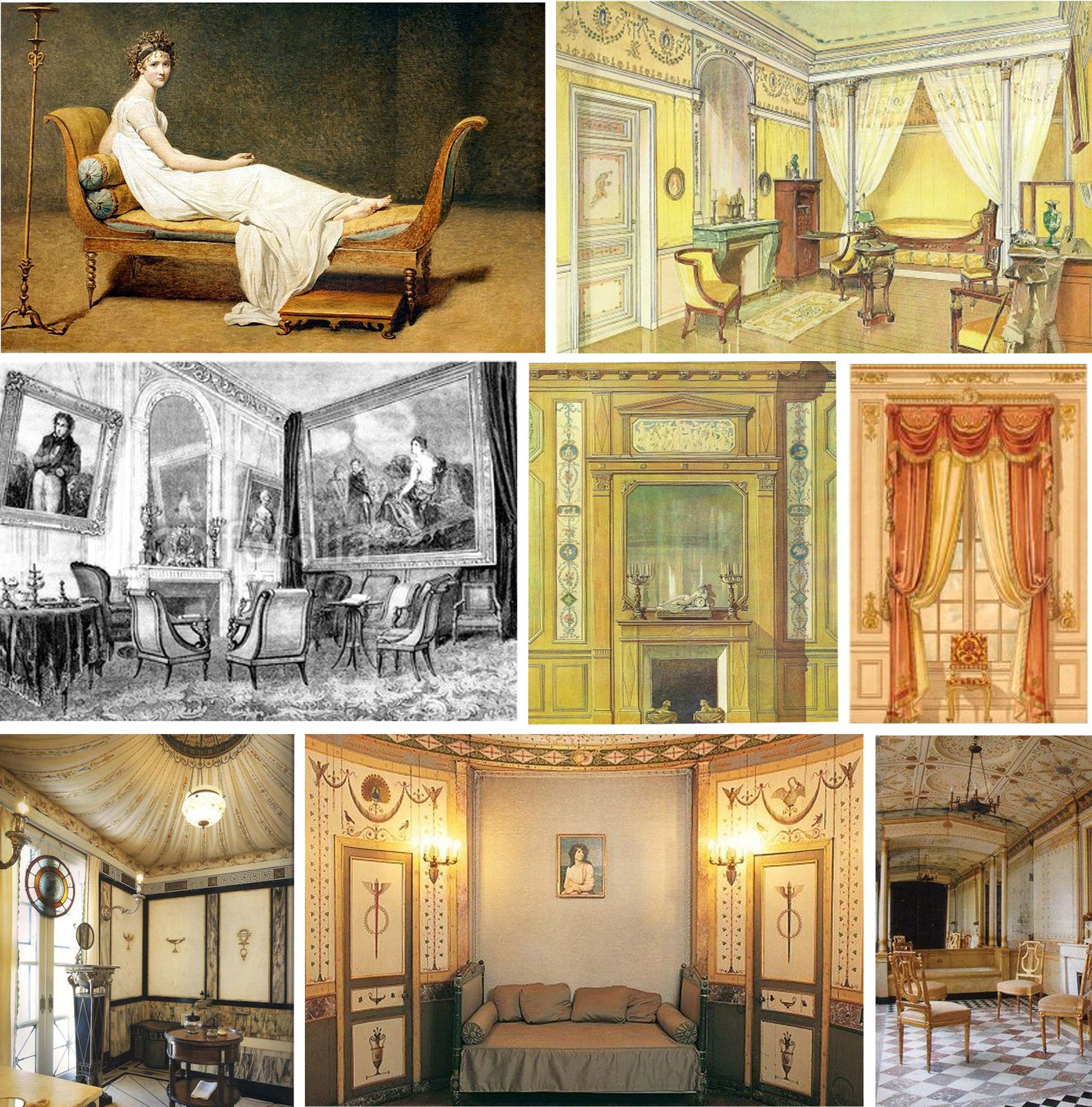 esprit directoire atelier montmartre. Black Bedroom Furniture Sets. Home Design Ideas