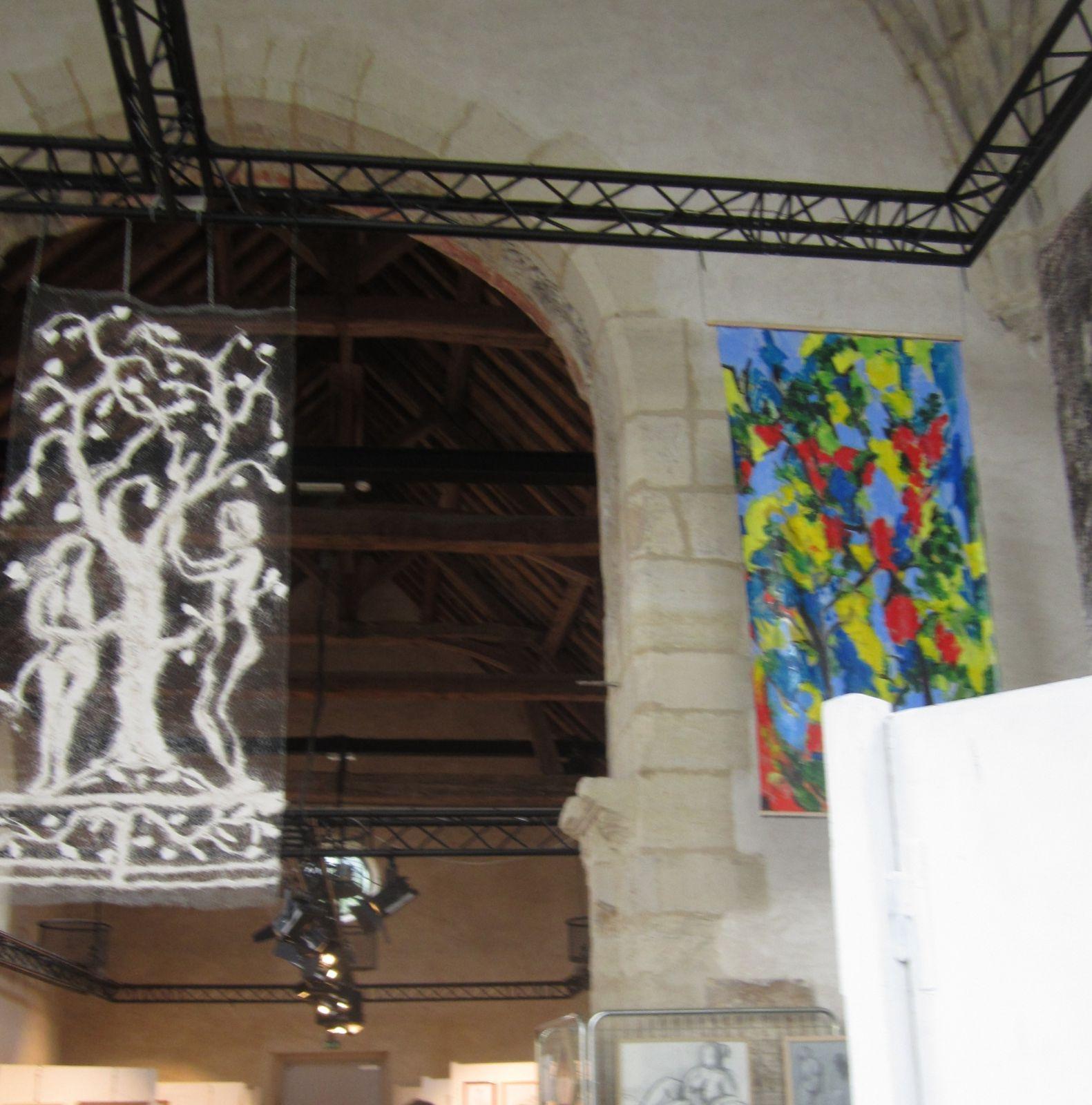 Une belle exposition des oeuvres des élèves de l'Amicale Artistique de Chelles a cloturé les Journées du Patrimoine.