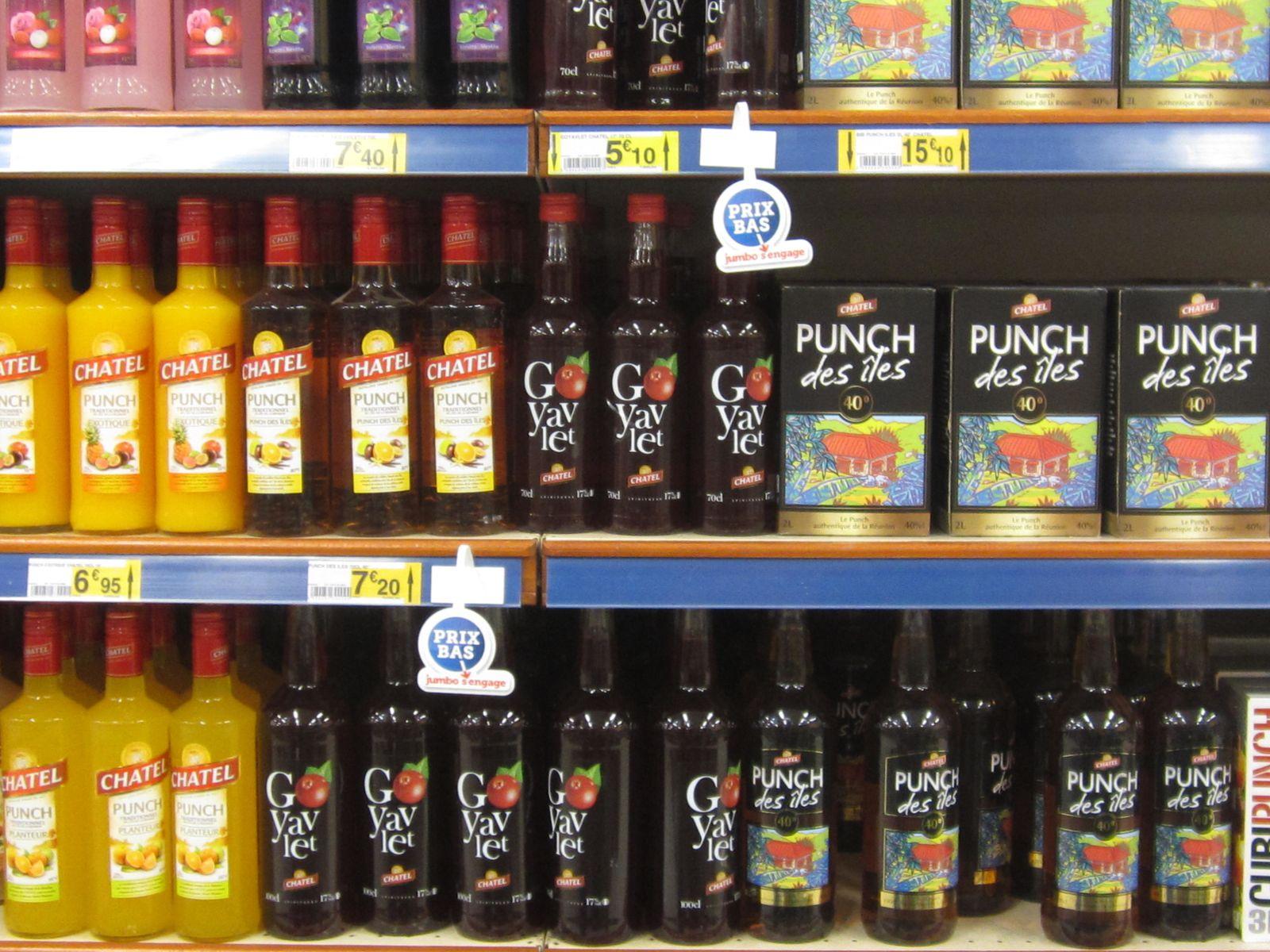 Ti'Punch aux fruits ... à boire avec modération!