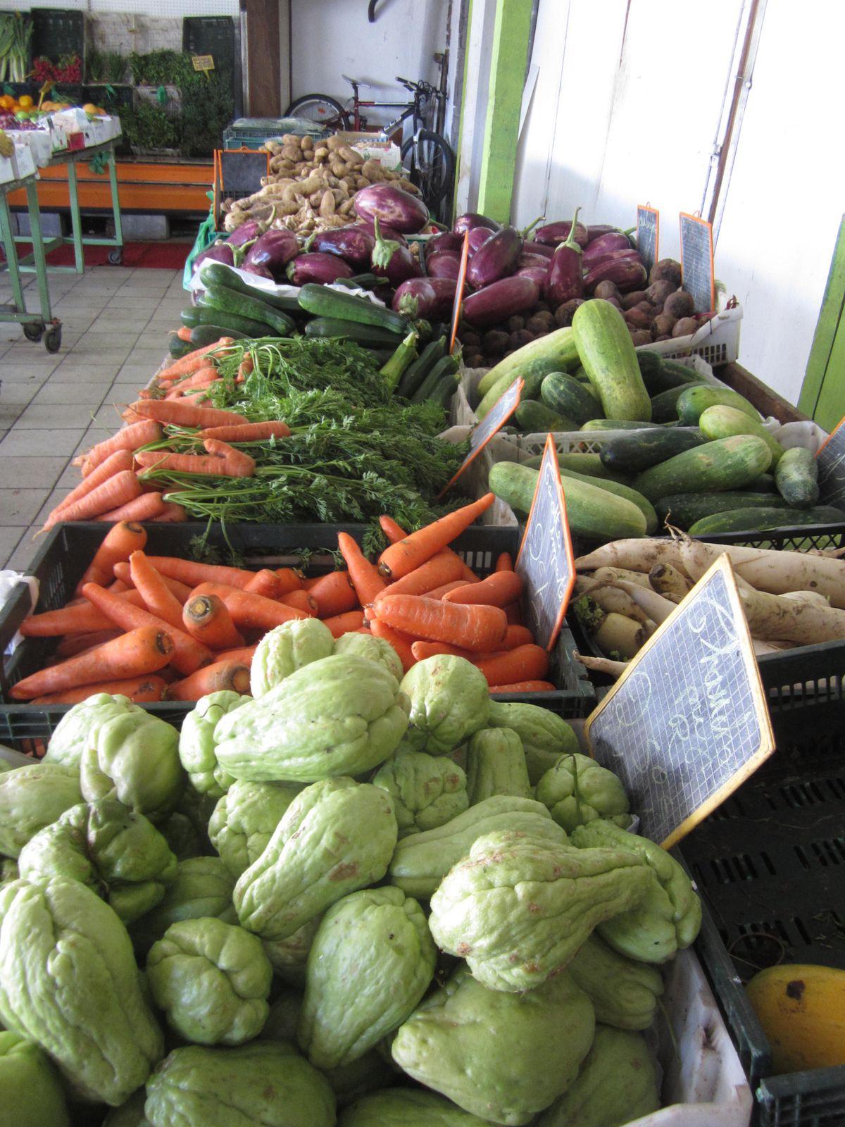 Des fruits et des legumes aux saveurs inconnues
