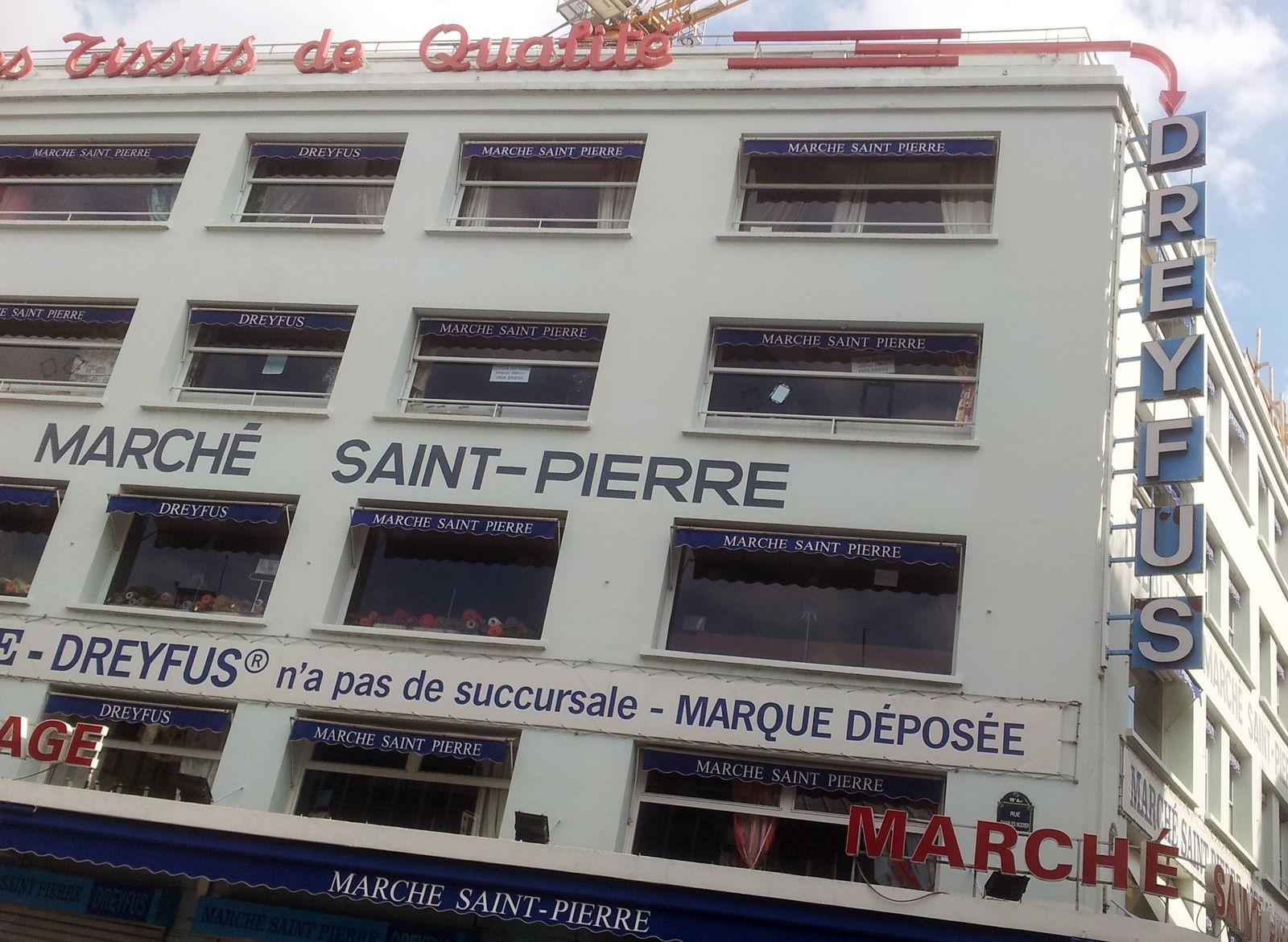 Oh ! misère...c'est fermé chez  Reine et au marché Saint Pierre....