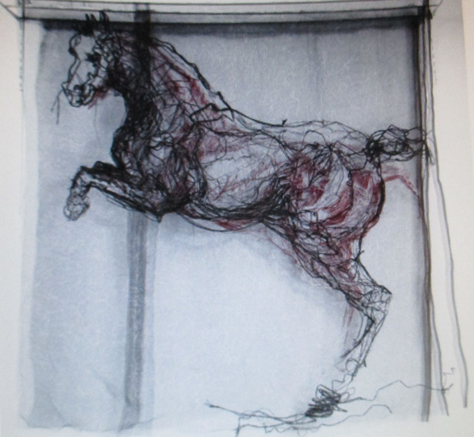 Une oeuvre monumentale....Valérye , amoureuse de la gent équine va apprécier !!!!