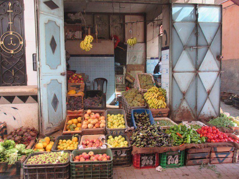 Fruits et légumes abondent ...