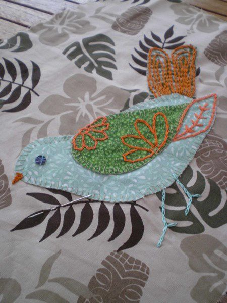 PATCHCATH nous offre l'oiseau bleu