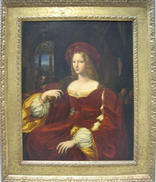La Dame du peintre Raphaël (1518) et des oeuvres du Temps Moderne....