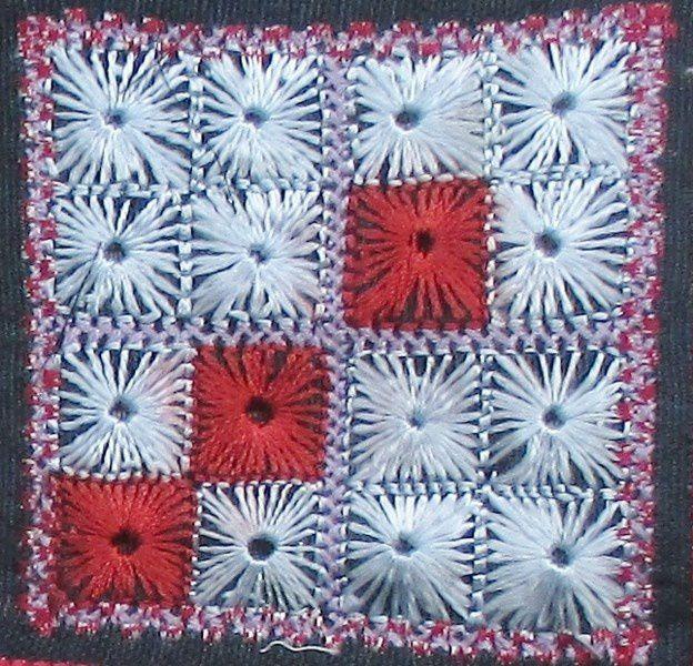 Les petits carrés afghans sont sources d'inspiration ....