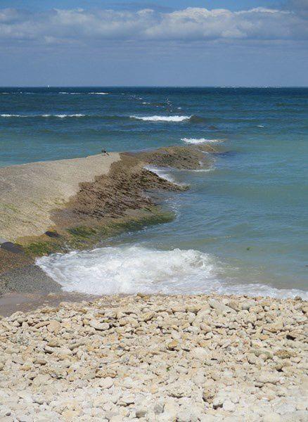 le phare des Baleines...vagues et criste-marines...