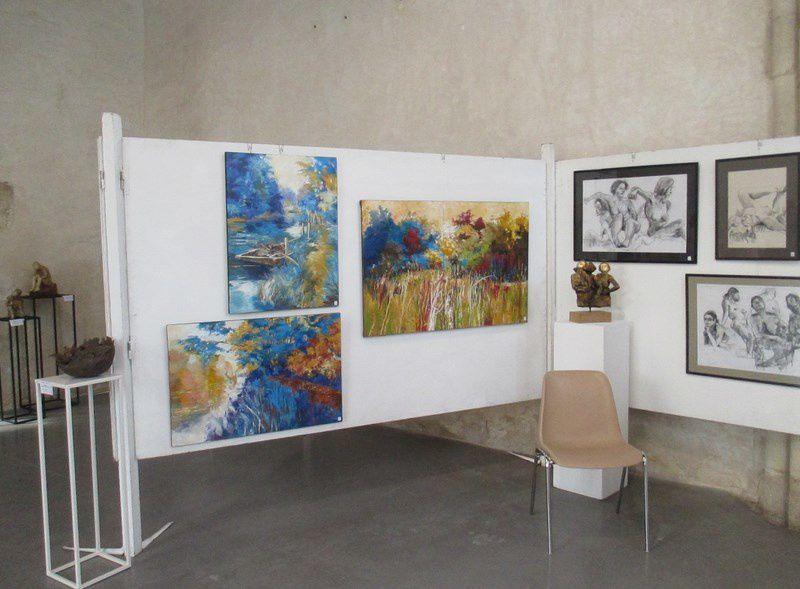 Peinture à l'huile, aquarelle, gouache...