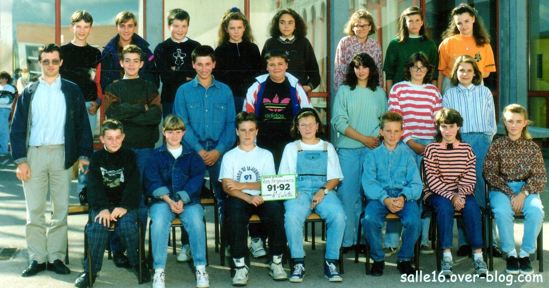 4e Violette 91-92 Collège 'Les Argousiers' de Oye-Plage