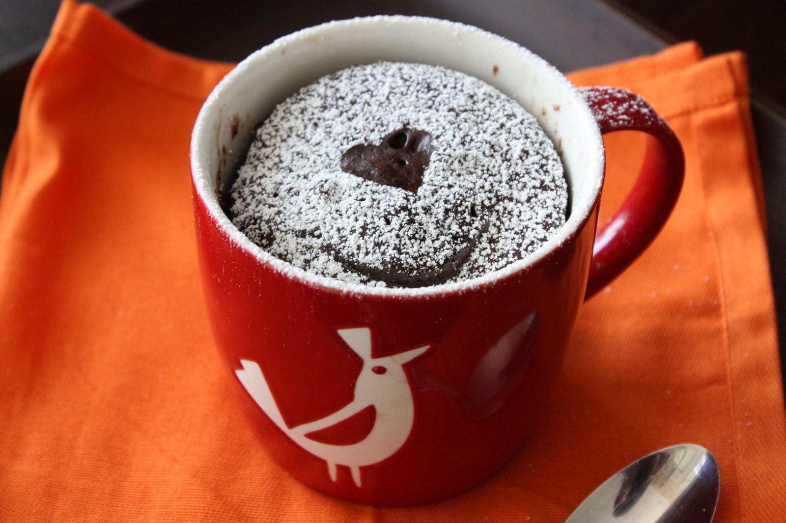Mug Cake Chocolat Nature
