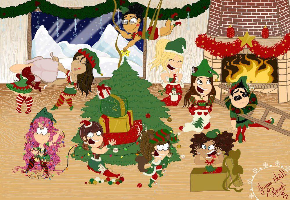 Nouveau challenge virtuel : Invasion de petits lutins pour Noël!
