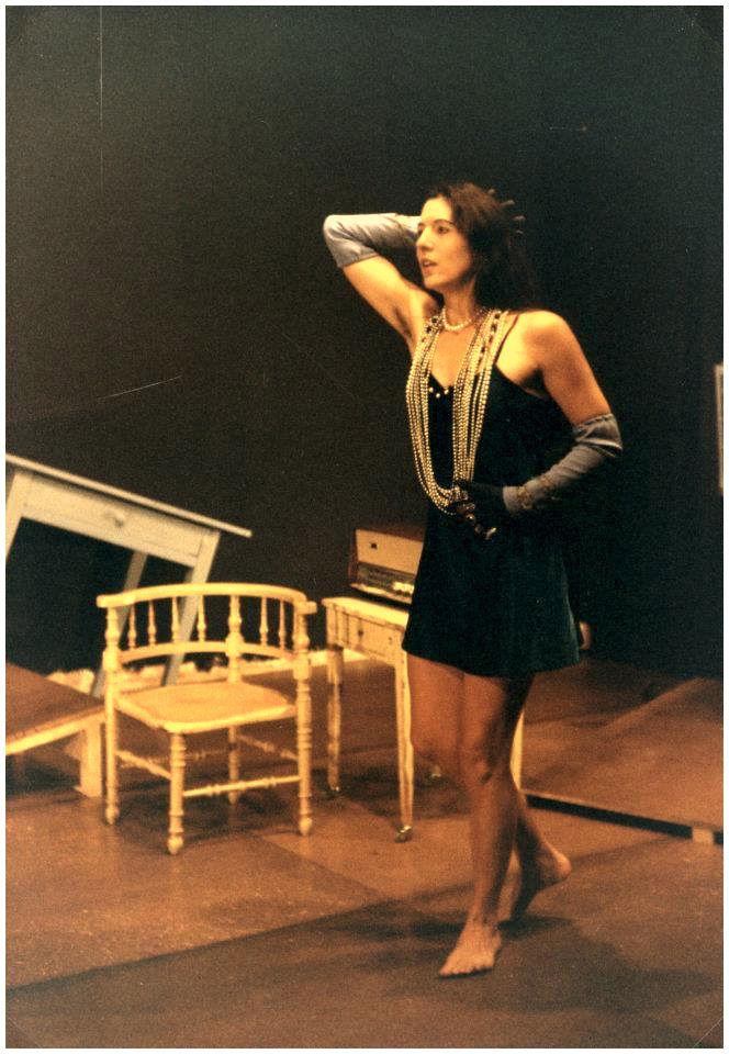 """Marie Gerlaud, comédienne, dans """"En attendant Barbe-Bleue"""" (photo Gaby Monnet-Ferréol)"""