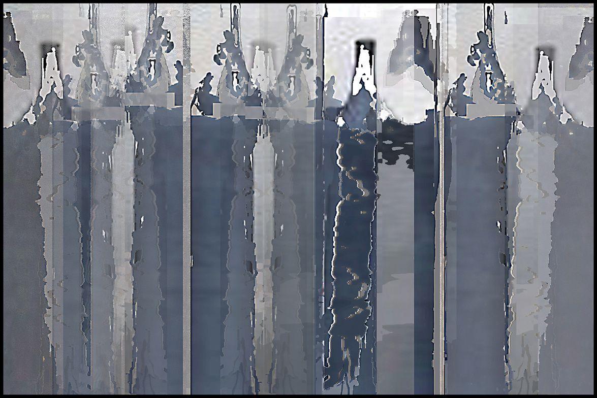 """""""Errance_02"""" peinture numérique de Gaby Monnet-Ferréol"""
