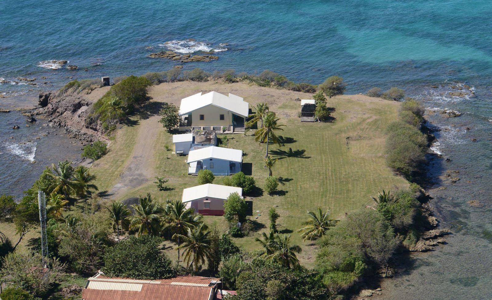 Photos aériennes du site des salines
