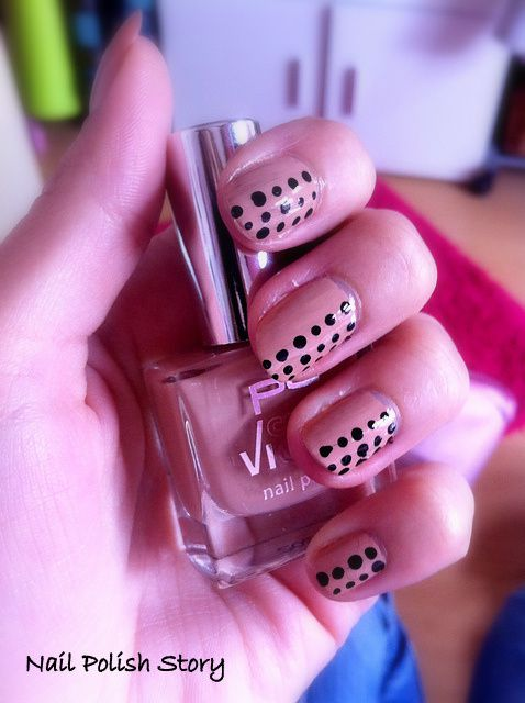 LAAAAAA, le top coat a bavé.... --'